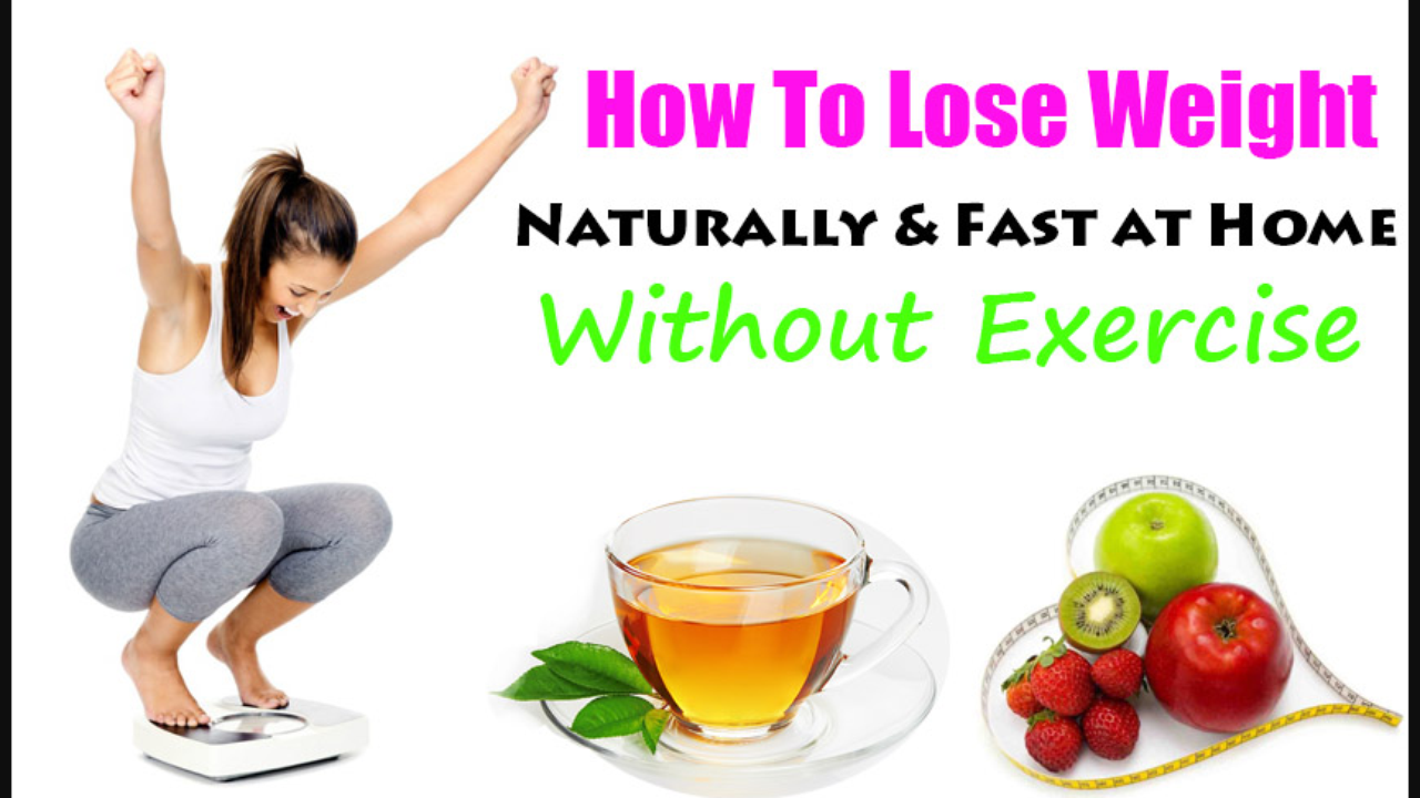 10 Easy Ways To Loose Weight Naturally Without Exercise Fitness Tips