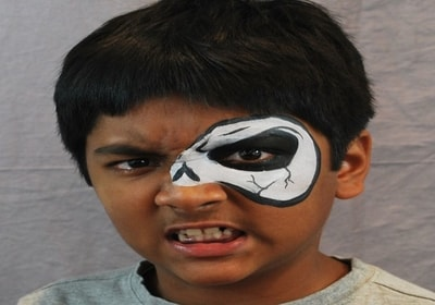 top 10 easy  scary halloween makeup for kids 2020