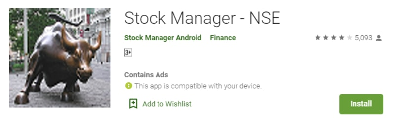 stock manager trading app