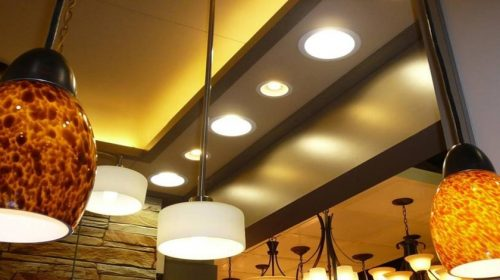 Different types of lighting